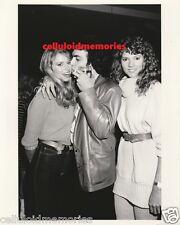 Original Photo Paul Stanley KISS & Donna Dixon Bosom Buddies
