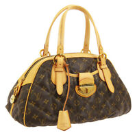 LOUIS VUITTON BOWLING HAND BAG AR4008 PURSE MONOGRAM ETOILE M41434 AUTH NR14051d