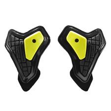 Spidi Safety Lab Kit Warrior Motorcycle Elbow Sliders Black Yellow Z175