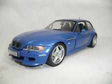 1999 BMW Z3 E36/8 M COUPE BLUE METALLIC 1:18 UT DEALER 80439422194 VERY RARE