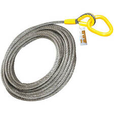 """Roll Off Cable for Container Truck 6x26 Steel Core 1"""" x 82'"""