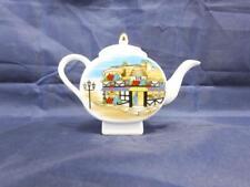Regency Ceramic Miniature Tea Pot Bakery Shop Design.