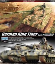Academy 1/35 Plastic Model Kit German King Tiger Last Production #13229