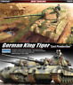 Academy #13229 1/35 Plastic Model Kit German King Tiger Last Production #13229