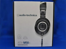 Audio-Technica ATH-M50X Black Professional Monitor Headphones Japan Model New