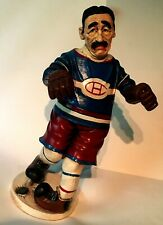 """NHL Montreal Canadiens Peter Mook Sculpture Figure Rare 14"""" Number Hockey Player"""