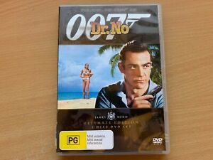 Dr No James Bond 007 Ultimate 2-Disc Edition Sean Connery Ursula Andress DVD R4