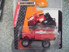 Matchbox 2014 #092/120 FLAME SMASHER MBX red Heroic rescue fire Case H