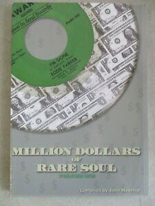 2006 JOHN MANSHIP'S MILLION DOLLARS OF RARE SOUL VOLUME ONE BOOK