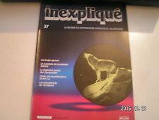 ** Inexpliqué n°37 Les loups garous / Scandale de la papesse Jeanne