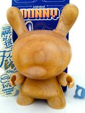 """DUNNY 3"""" 2009 SERIES TRAVIS CAIN WOOD SUPER CHASE KIDROBOT COLLECTIBLE TOY RARE"""