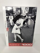 Life V-J Day Kiss in Times Square 1000 Piece Jigsaw Puzzle Eurographics USA NEW
