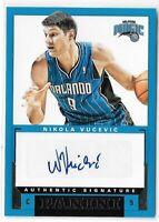 Nikola Vucevic ROOKIE AUTO 2012-13 Signatures Autograph Bulls Magic Panini RC