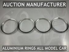 Seat Ibiza  99-02 Chrome Rings For Air Vents Real Alloy Surrounds x4 New