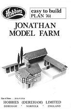 Hobbies planes para hacer un modelo de granja 600 Mm X 450 Mm p761