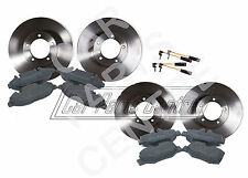 FOR MERCEDES VITO 639 FRONT REAR BRAKE DISCS PADS SET KIT SENSORS BOSCH TYPE 03-