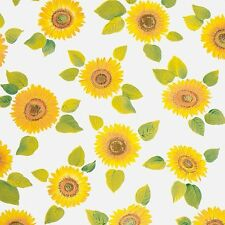 D C FIX  YELLOW SUNFLOWER FLOWER STICKY BACK PLASTIC SELF ADHESIVE VINYL FILM