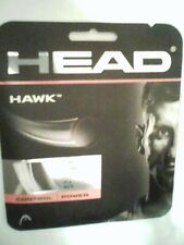 NEW Head Hawk White 17G Guage Tennis String 40 foot Pack forty ft Set