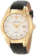 Versace Men's 25A380D002 S009 Character Rose Gold PVD AUTOMATIC Leather Watch