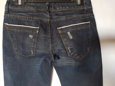 WOMEN'S JEANS JEANSWEST SELVEDGE SIZE 7/25 LEG 34 NWOT RRP $149.00 FREE POSTAGE