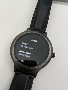 LG Watch style Google Wear OS Smart Watch