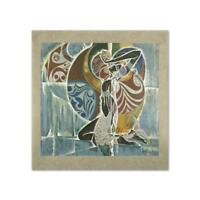 """Lu Hong """"Expectations of a Mermaid"""" Signed Limited Edition Serigraph on Paper"""