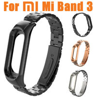 For Xiaomi Mi Band 3 Watch Stainless Steel Luxury Wrist Strap Wristband Bracelet