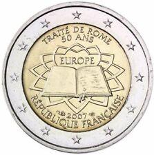 2-Euro-Gedenkmünzen aus Frankreich Euro Jahr 2007