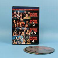 DVD Quadruple Feature - All 4 Scary Movie Films - 1 + 2 + 3.5 + 4 - BILINGUAL