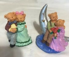 Golen Oldies Bear couples Resin Figurines knick knack collectibles decor,Nib