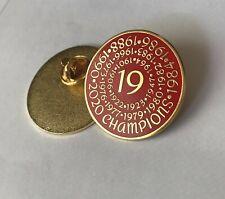 Liverpool FC Champions 19 Pin Badge