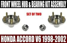 Fits:Honda Accord Front Wheel Hub & Bearing Kit Assy 3.0L V6 1998-2002 SET OF 2