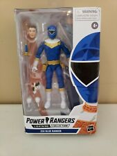 "Power Rangers 6"" ZEO BLUE RANGER Lightning Collection (DAMAGED BOX)"