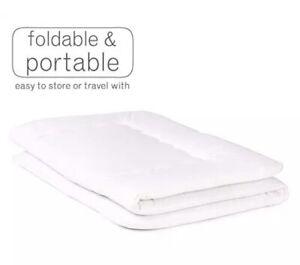 Luxton Home Japanese Shiki Futon Foldable Mattress for Sleep & Travel Twin Long