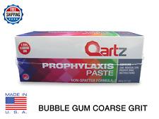 Qartz Prophy Paste Cups Bubble Gum Coarse 200box Dental Non Splatter Withfluoride