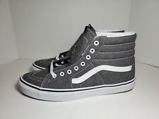Mens Vans Sk8 Hi Micro Herringbone Canvas Skate Shoes # VN0A38GEQTW Size 11.5 DS