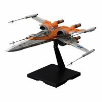 BANDAI Star Wars Poe's X-Wing Fighter (The Rise of Skywalker) 1/72 Scale JAPAN