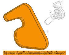 Chevrolet GM OEM 13-15 Cruze-Serpentine Drive Fan Belt 55578811