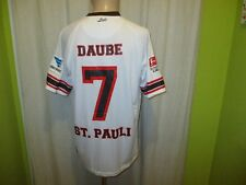 FC St.Pauli DoYou Football Auswärts Matchworn Trikot 12/13 + Nr.7 Daube Gr.L TOP