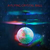 Flying RC Ball Flashing Light Aircraft Helicopter Induction Remote Magic Toy DI