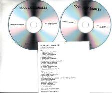 SOUL JAZZ SINGLES 2007 UK 25-trk promo only test 2xCD
