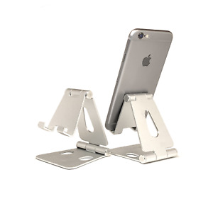Cell Phone Stand Adjustable Aluminum Phone Holder for iPhone 11 Pro Max XR Desk