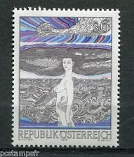 AUTRICHE, 1977, timbre 1394, TABLEAU HUTTER, PAINTING, neuf**, VF MNH stamp