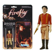 Firefly Malcolm Reynolds ReAction Figure NEW Toys 80's Movies Classic Retro