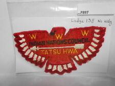 TATSU HWA LODGE 138 NO WDG CLOTH BACK F897