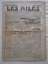 AILES 1931 505 LORRAINE HANRIOT LH-21S AFRIQUE FIAT AS.2 AVIA SANS MOTEUR SHORT