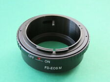 FD-EOS EF-M Adapter Ring for Canon EOS FD Lens to Canon EOS EF-M Camera M50 M100