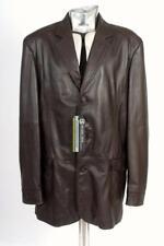 Oliver Sweeney Brown Leather Jacket XXL EU58 £650 Blazer