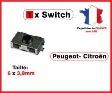 1 Switch bouton clé télécommande Peugeot 106 206 207 307 406 Citroen xsara C3 C5