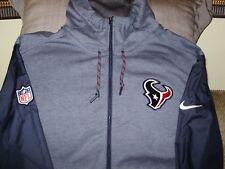 NFL Houston Texans Nike Travel Hybrid Blue Full Zip Hoodie Jacket Men s 2XL 6df28d265